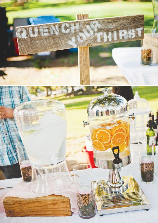 {Budget Friendly} Vintage Outdoor Wedding