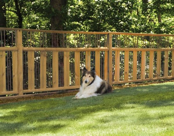 59 best images about attractive privacy fences on for Attractive garden fencing