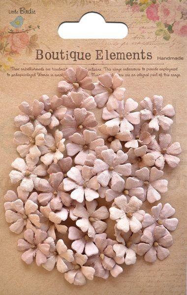 Διακοσμητικές μαργαρίτες 40τεμ nude 1,6cm