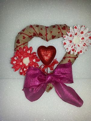 Hey, I found this really awesome Etsy listing at https://www.etsy.com/listing/175509839/valentine-wreath-burlap-valentine-wreath