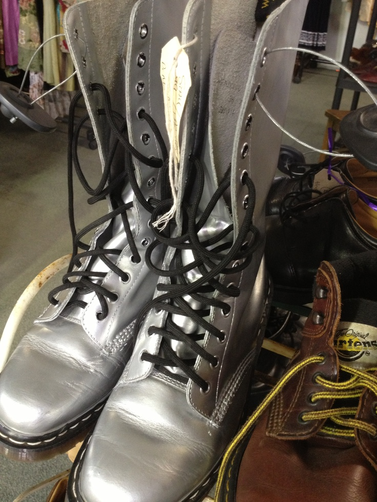 These Doc Martens boots are made for walking! The Mill Markets - Ballarat, Daylesford & Geelong (from Stall #99 Geelong) www.millmarkets.com.au
