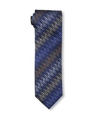 64% OFF Missoni Men's Zig Zag Tie, Blue/Gold