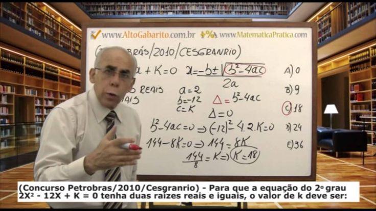 CONCURSO PETROBRAS - Testes Comentados - Banca Cesgranrio