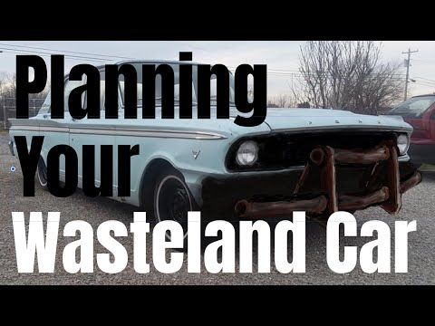 Need help planning your first postapocalyptic car or