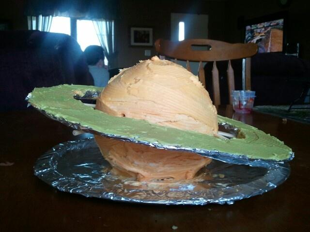 Saturn Cake Food Pinterest Cakes