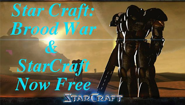 StarCraft and Starcraft: Brood War are Free with Latest Patch