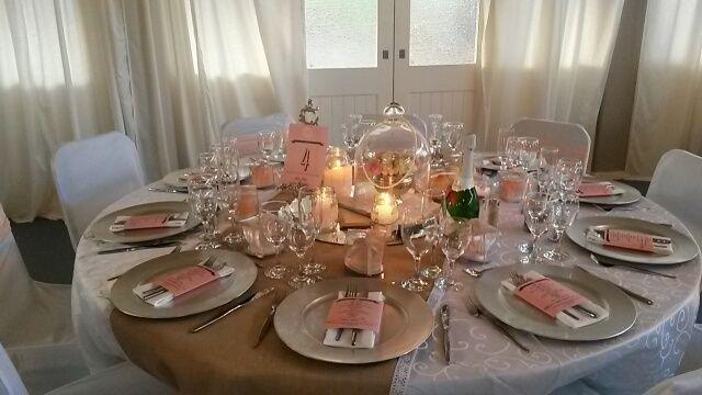 burlap wedding at Oak House venue in Cullinan