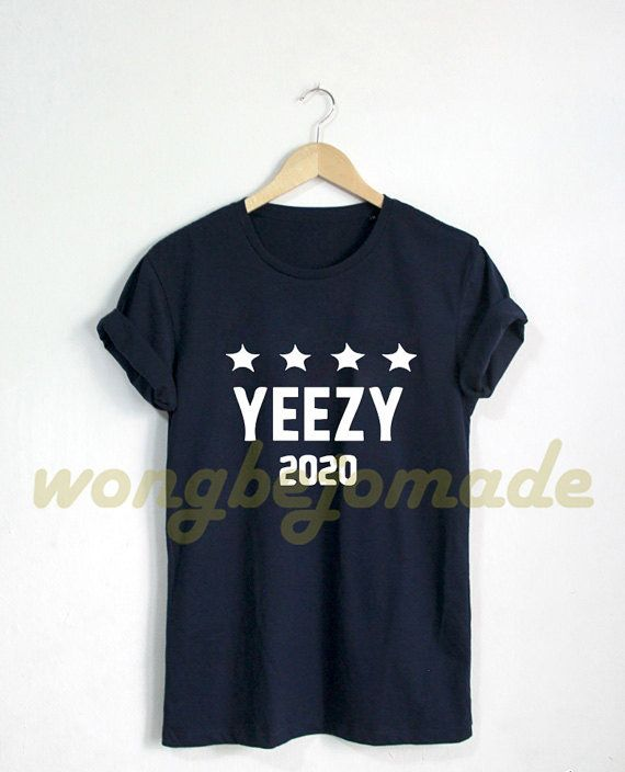 Yeezus Yeezy Shirt West for President 2020 Tee by Wongbejomade