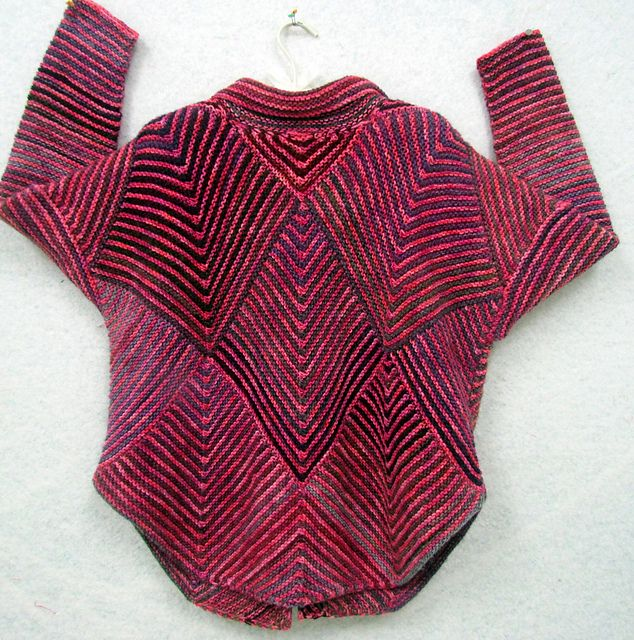 Ravelry: Fibermania's Mitered Diamond Jacket-Toconao