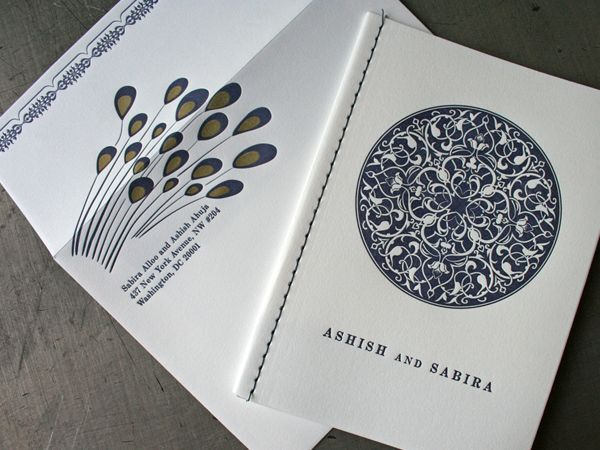 Ashish and Sabira Wedding Booklet by Beast Pieces