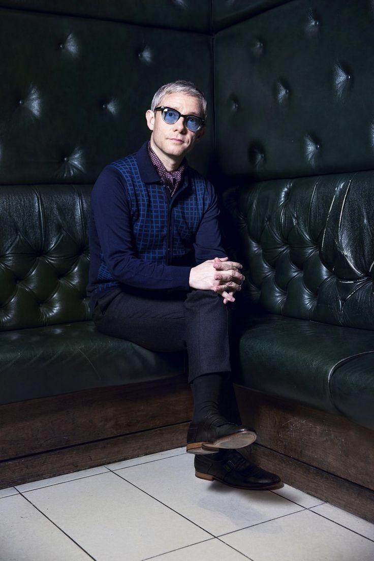 Stylish Martin Freeman photographed for magazine Soho Journal  by Sandra Vijandi