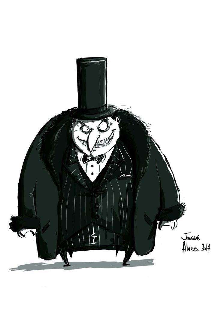 Pinguin #batman #pinguin #vilao #hero #dark #gotan #dc #comics #cartoon