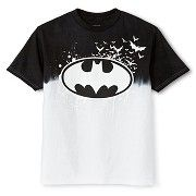 Batman Boys' Dip Dye Logo Graphic Tee