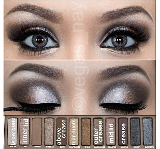 Naked eyeshadow...looks like a lot of work....