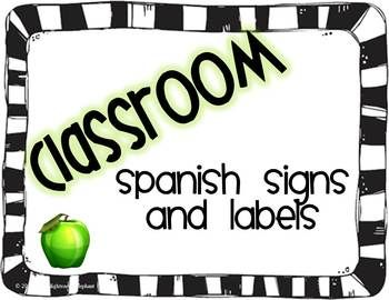 Spanish class object labels...$3.00: Classroom Labels Spanish, Bilingual Classroom, Classroom Objects Spanish, Object Labels 3 00, Classroom Labels In Spanish, Classroom Teaching Ideas, Spanish Class, Classroom Ideas, Classroom Organization