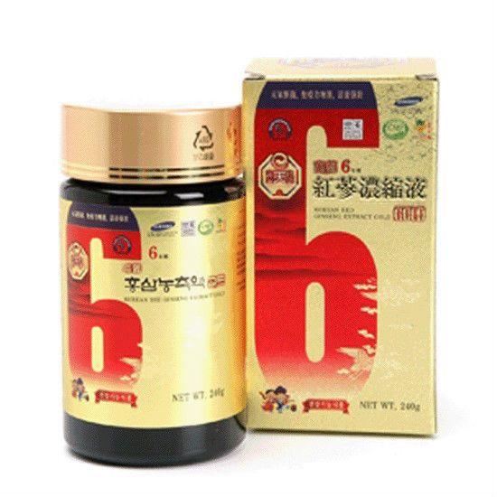 6-Years KOREAN  RED GINSENG  EXTRACT GOLD (240g*1Bottle) / Anti-Aging  ! #KOREANHEAVENREDGINSE