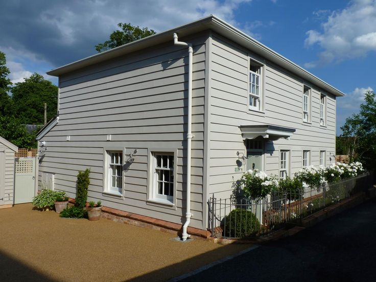Lovely Weatherboarded House - Back To Front Exterior Design