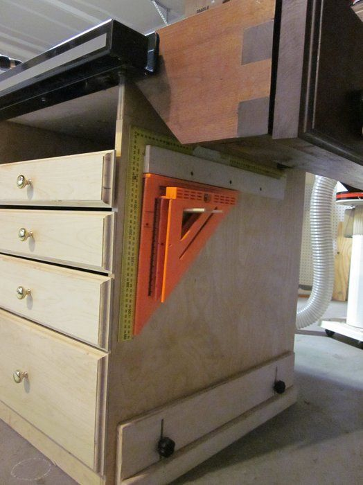 Table Saw End Woodworking Bench Workshop Pinterest Best Woodworking And Woodworking Shop Ideas