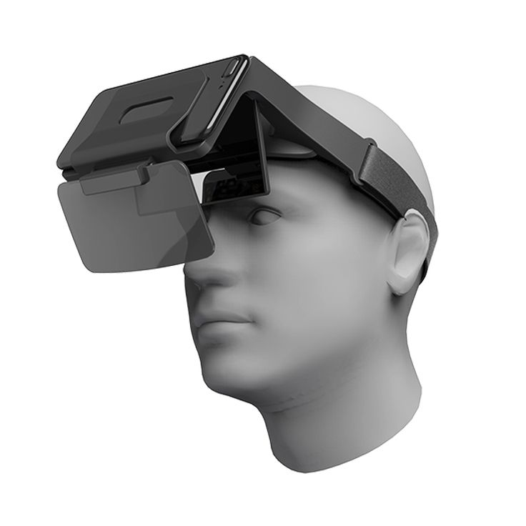 2018 Latest Designed AR Headset Augmented Reality Glasses AR Box Mobile Phone 3D  VR Box Product Parameters 1, High Quality AR optical lens,perfect image result with optical distortion optimization 2,Adaptable with 4,7''-5.5'' smartphones 3,Light weight,ergonomic design for maximum comfort,prolonged use without visual fatigue 4,Designed with optimal safety wathching distance to prevent eyestrain 5,Literate your hands,unfettered entraninment enjoyment