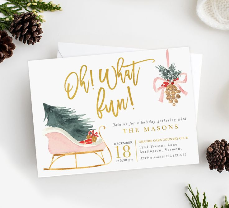 60 best Holiday Invitations & Cards images on Pinterest | Holiday ...