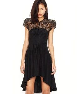 Lover Black Gothic Lace Dress