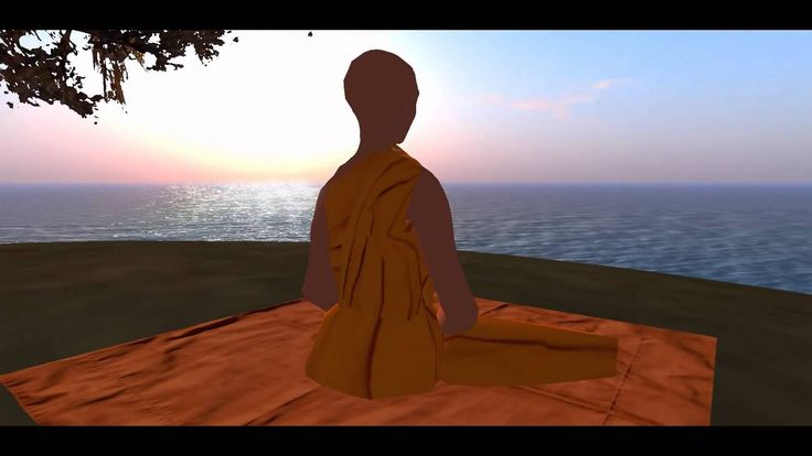 A video on meditation for children. It's a mixture of meditating on ideas (like cats, dogs, parents, etc.) and meditating on reality (sitting, breath, etc.)....