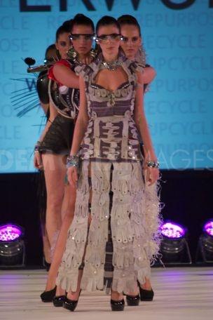Look at the models at Brighton Fashion Week wearing WALTERWORKs looks