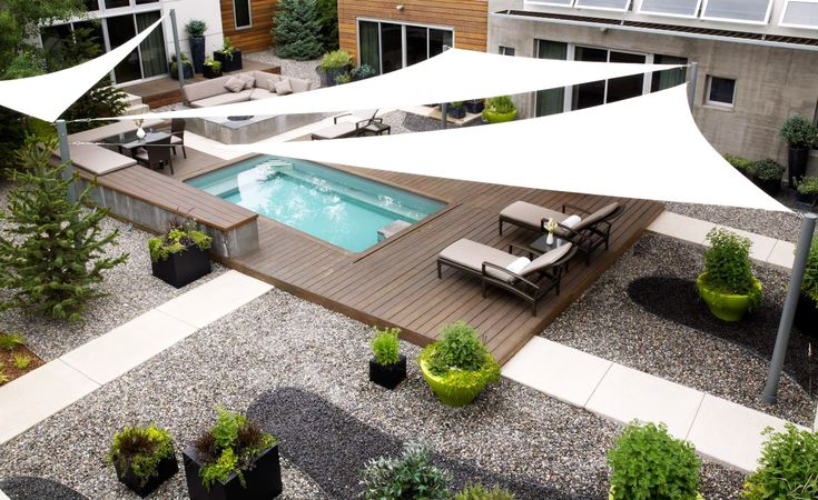 outdoor areas with shade sails - Google Search