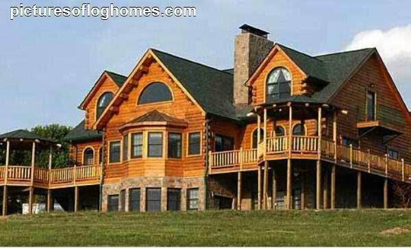 Beautiful Log Cabin Home Home Design Pinterest