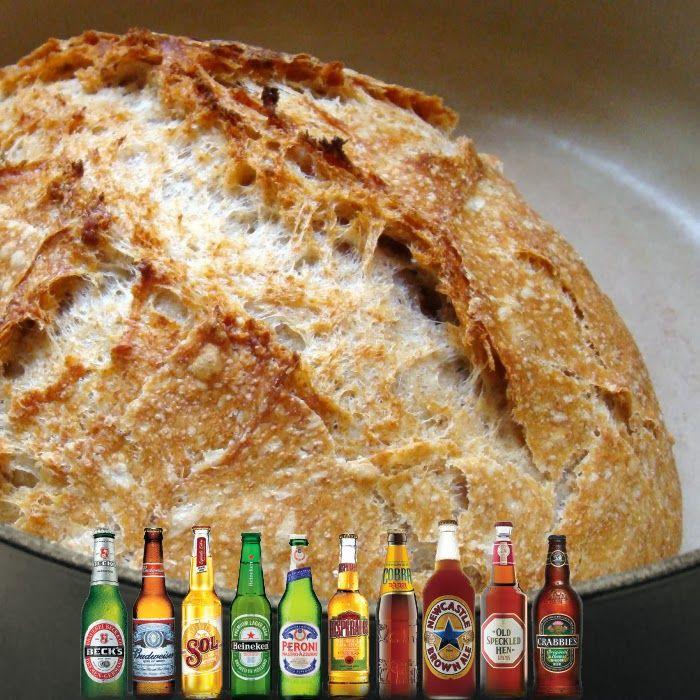 Ψωμί Μπύρας Χωρίς Ζύμωμα με Κάρδαμο ~ Η Τέλεια Συνταγή, η Τέλεια Λύση, το Τέλειο Πρόβλημα!