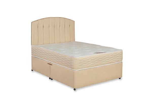 "2ft 6"" Balmoral Orthopaedic Small Single Divan Bed & Mattress Set"