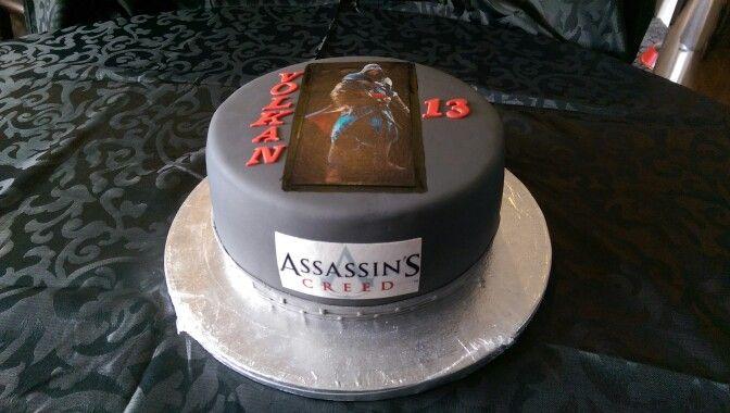 Assassins creed taart