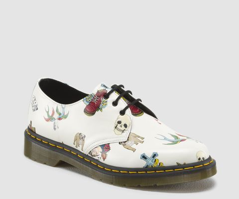 Dr Martens Tattoo Shoes #eshoes #eshoesdirect www.eshoesdirect.co.uk