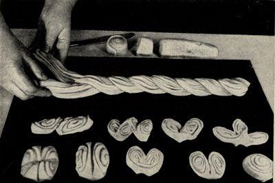 Разделка плюшек и плетение венка 'Плюшка'