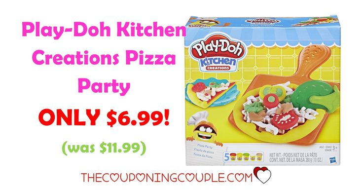 Great idea for those play-doh lovers! Don't miss out on the Play-Doh Kitchen Creations Pizza Party for ONLY $6.99 (was $11.99)!   Click the link below to get all of the details ► http://www.thecouponingcouple.com/play-doh-kitchen-creations-pizza-party/ #Coupons #Couponing #CouponCommunity  Visit us at http://www.thecouponingcouple.com for more great posts!