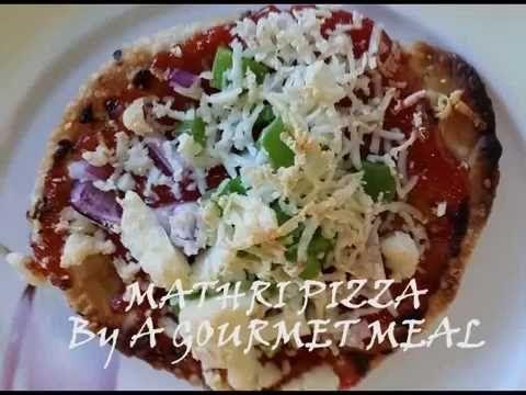 QUICK MATHRI PIZZA