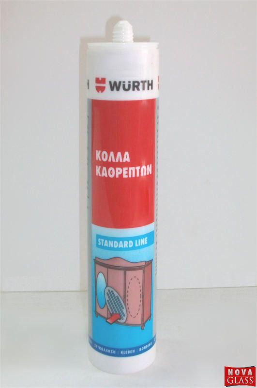 Ειδική Σιλικόνη για τη συγκόλληση καθρεπτών 290ml της Würth
