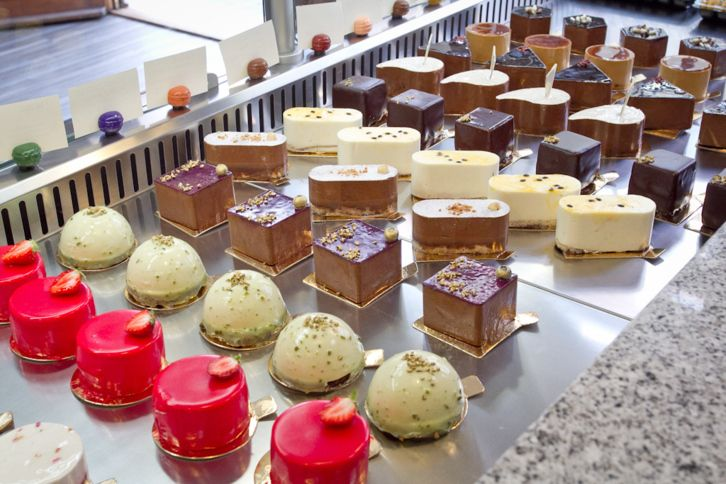"best ""new wave"" confectioneries in Budapest"