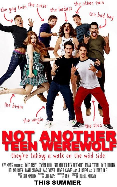 Teen Wolf!! Haha this is great! Would be awesome as a college movie xx