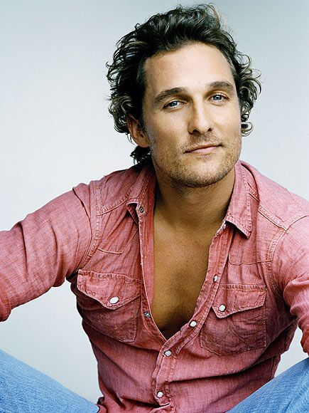Matthew McConaughey. Obviously because of his good looks! My 2 favorite movies of his is A Time to Kill & The Lincoln Lawyer! Great great acting! He seems to be a down to earth guy that loves his family! :)