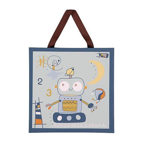 Lolli Living Baby Bot Canvas Art - Robot 1-2-3