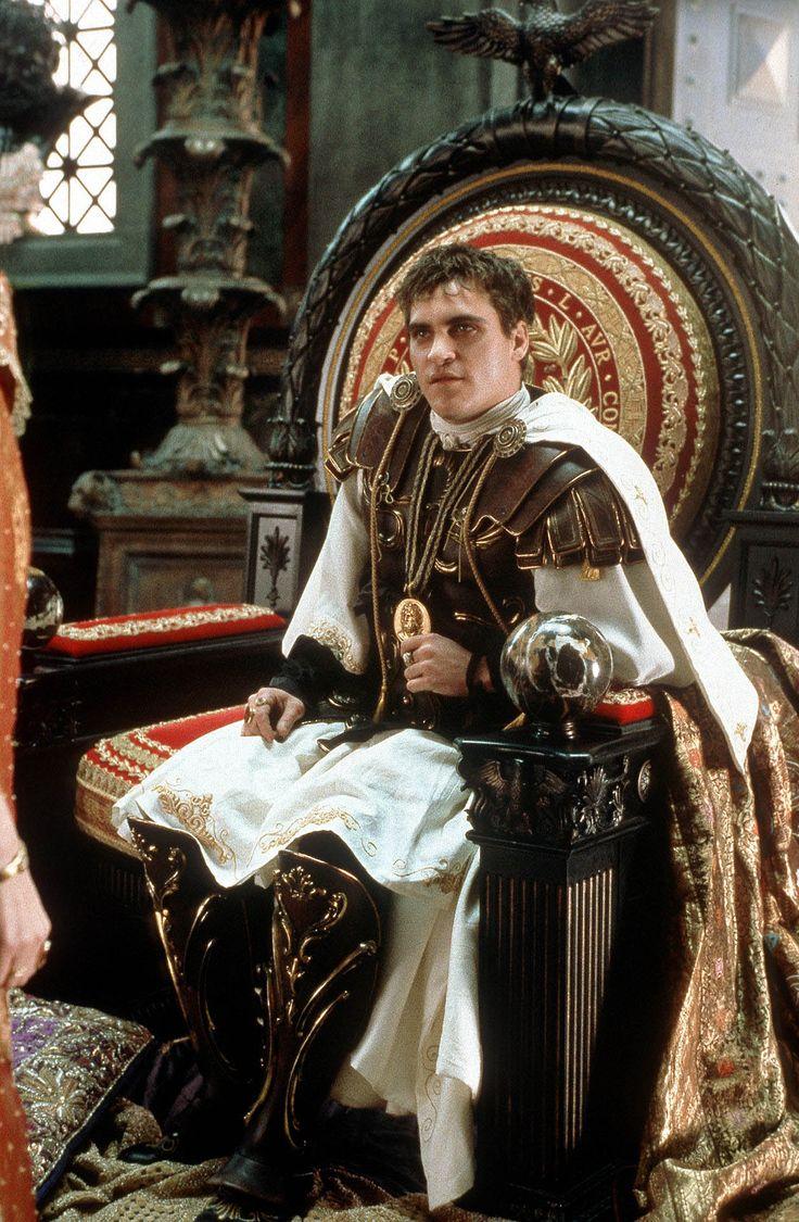 Joaquin Phoenix in Gladiator directed by Ridley Scott, 2000
