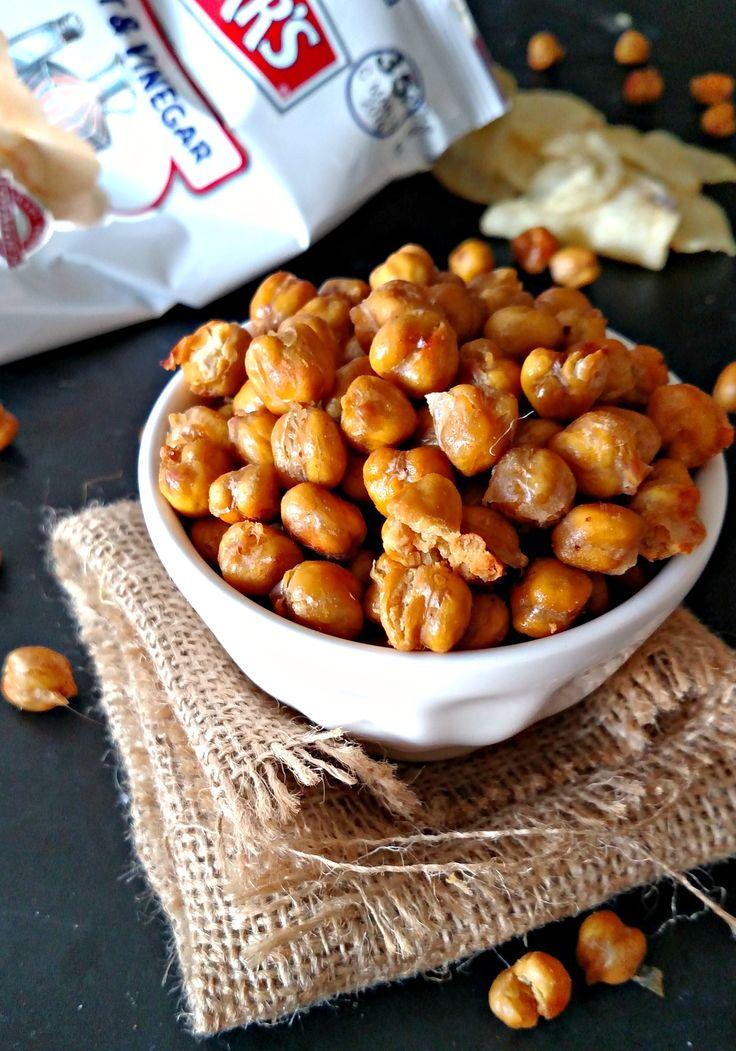 Salt and Vinegar Chickpeas Recipe