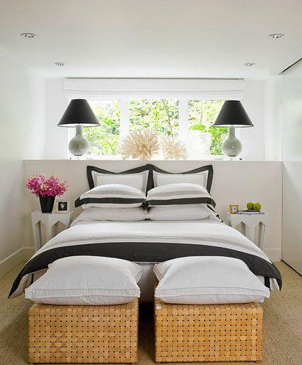 Soluciones para dormitorios peque os ideas para - Habitaciones de forja ...