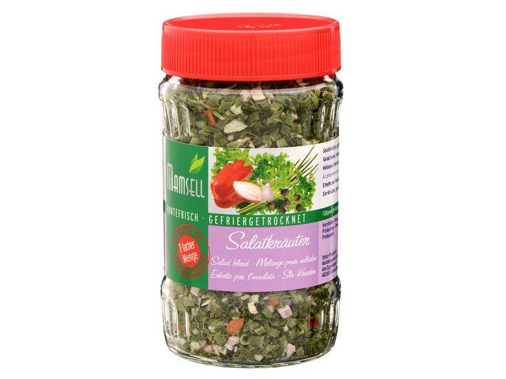 MAMSELL Gefriergetrocknete Kräuter Salatkräuter 1
