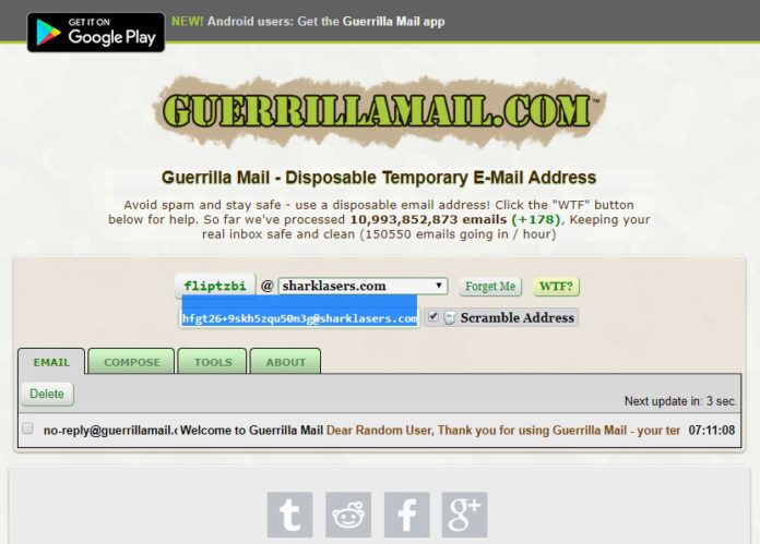 Fake Email Generator in 2019 – Disposable Email Address