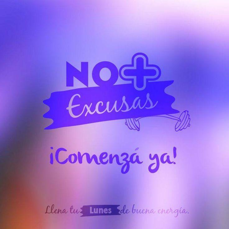 Sin excusas, a comenzar todo eso que tenés pendiente.