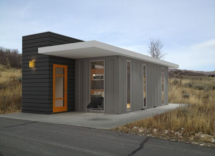 144 best images about prefab shipping container homes on pinterest cabin house and - Shipping container homes utah ...