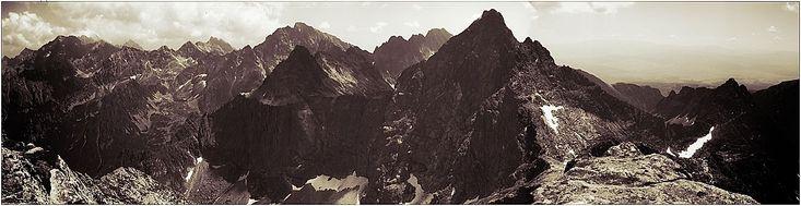 Rysy-widok-na-Tatry-Wysokie zdjęcia panoramiczne, panoramic photography, krajobrazy górskie,  #zdjęcia #panoramiczne #panoramic #photography #landscapes #Poland #Polska #krajobrazy #góry #Mountains #Tatry