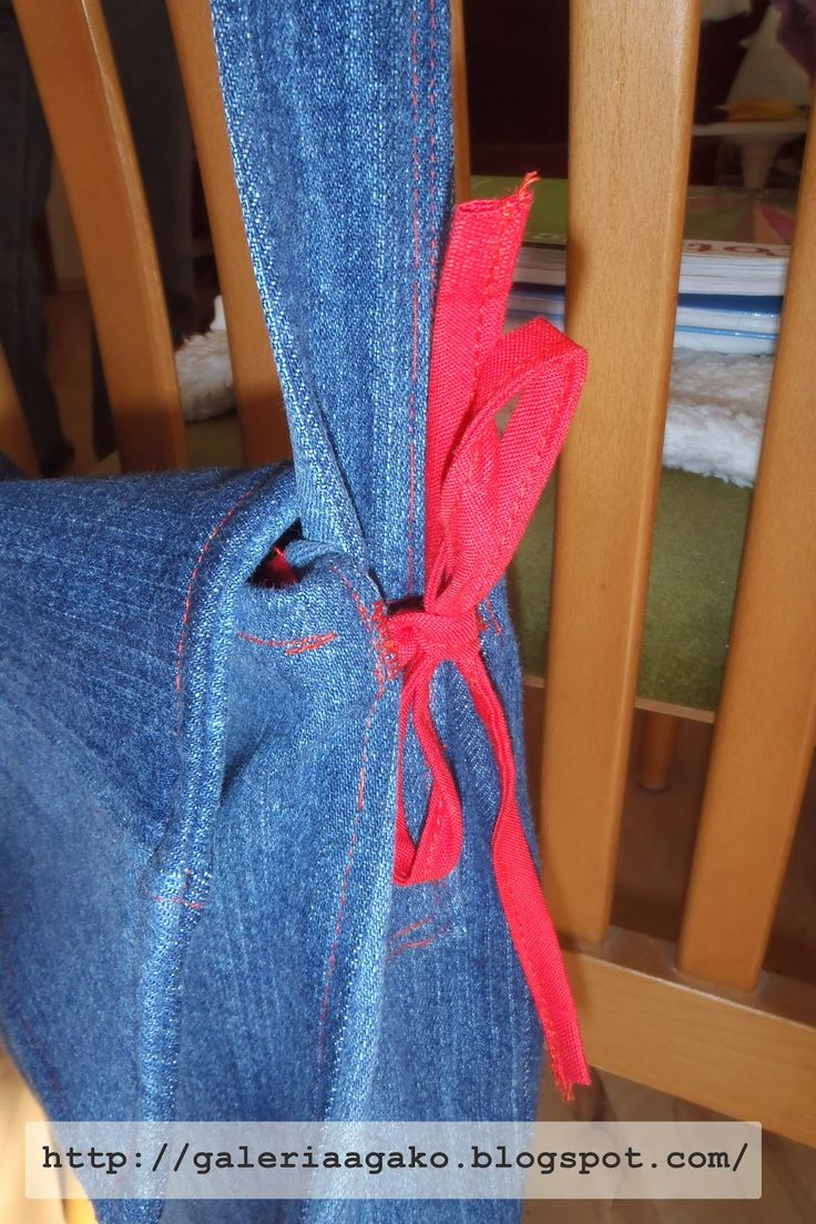 jeans bag recycled